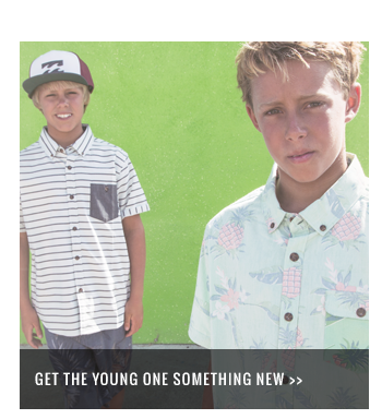 Get the young one something new