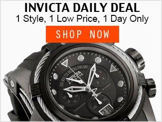 Invicta Daily Deal