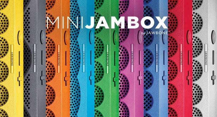 Pocketable. Colorful. Giftable. MINI JAMBOX.