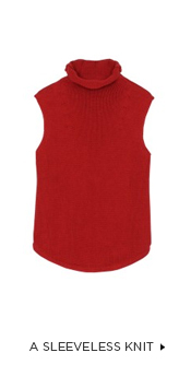 A Sleeveless Knit