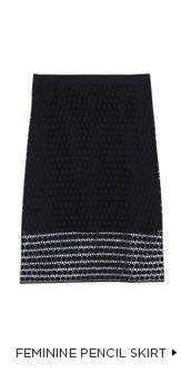 Feminine Pencil Skirt