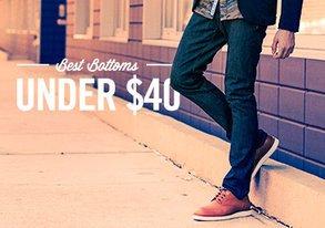 Shop Pants Under $40 ft. Volcom & KR3W