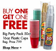 Big Party Pack 40ct 12 & 16oz Coffee Cups