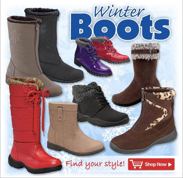 Winter Boots - Shop Now >>