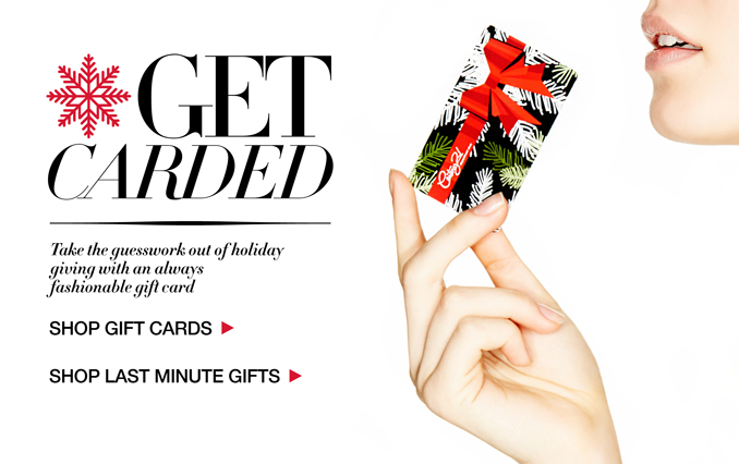 Shop Gift Cards & Last Minute Gifts For Her