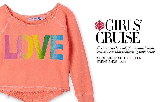 Shop Girls' Cruise Apparel