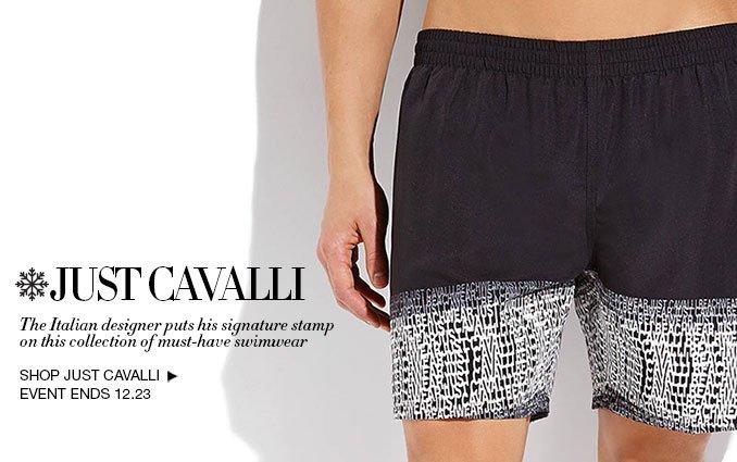 Shop Cavalli Swim - Mens