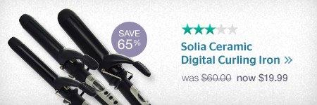 Solia Digital Curling Irons
