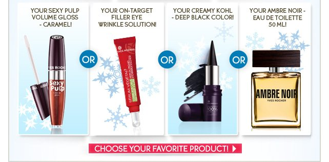 Choose your favorite product!