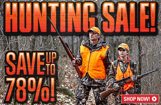 Sportsman's Guide's Hunting Sale! Save Up To 78%!