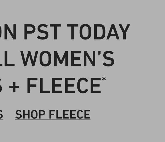50% Off Women's Fleece