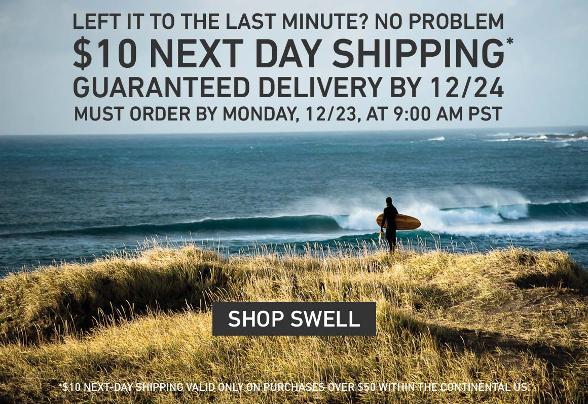$10 Next-Day Guaranteed On-Time Shipping! Order by 12/23 at 9AM PST for Guaranteed 12/24 Delivery