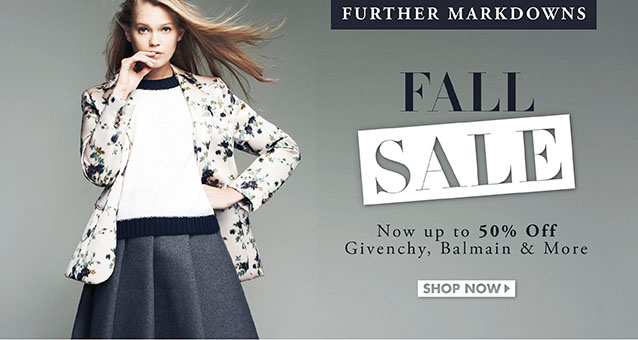 Fall Sale Up To 50%