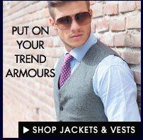Shop Party Wear Jackets & Vests!