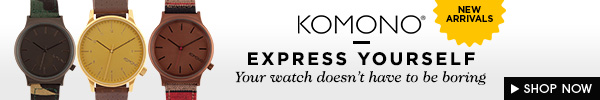 New Komono Watches!