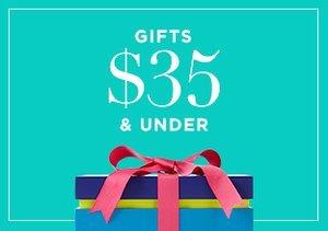 Gifts $35 & Under