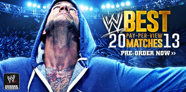 Best PPV Matches of 2013 DVD and Blu-ray