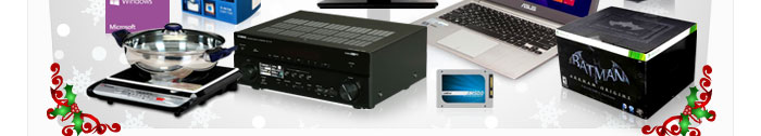 Cook, Receiver, ODD, SSD, PSU