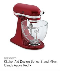 TOP-RATED - KitchenAid Design Series Stand Mixer, Candy Apple Red