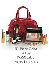 31-Piece Color Gift Set ($350 value) NOW $48.50.