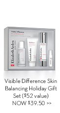 Visible Difference Skin Balancing Holiday Gift Set ($52 value) NOW $39.50.