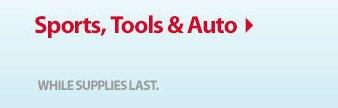 Sports, Tools & Auto