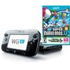 Nintendo Wii U Deluxe Console Set, Black with New Super Mario Bros. U and New Super Luigi U
