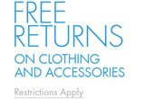 FREE RETURNS AT AMAZON FASHION - Restrictions apply