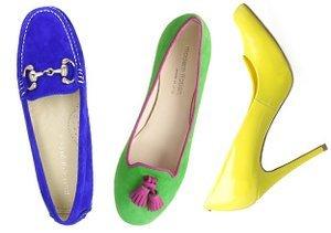 Vibrant Hues: Shoes