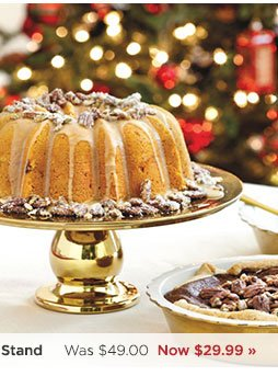 Southern Living Gold Cake Stand