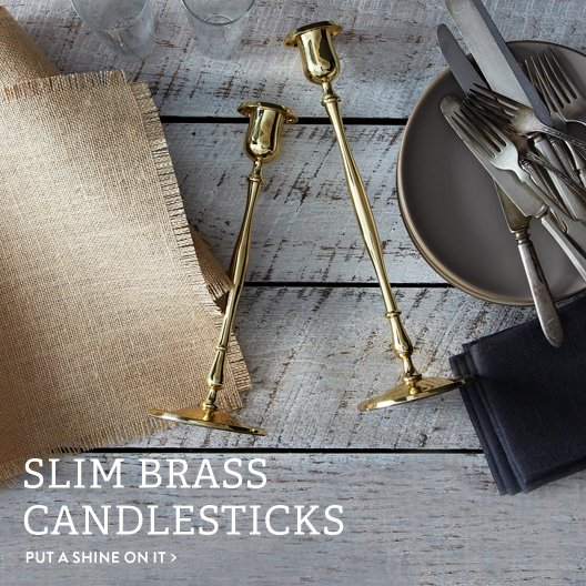 Slim Candlesticks