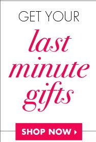 Get Last Minute Gifts