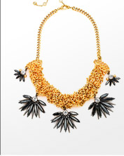 Waldorf Crystal Statement Necklace