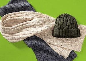 Lighten Up: Neutral Winter Gear & Shoes