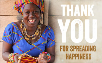 Thank You For Spreading Happiness
