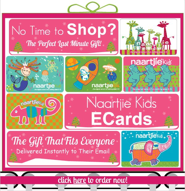 Need A  Last Minute Gift? Naartjie Kids ECards - Perfect for Every Child & Delivered  Instantly