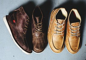 Shop New Leather Footwear by Oliberte