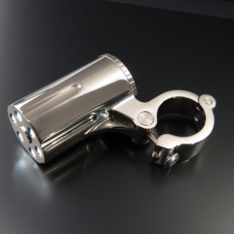 Defender Anti-Theft Bike Headlight // Chrome