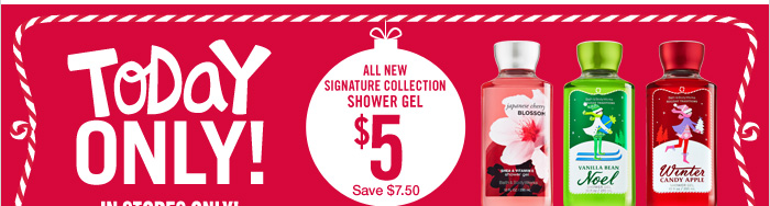 Signature Collection Shower Gel – $5