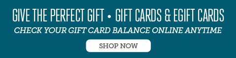 give the perfect gift - gift cards and e gift cards