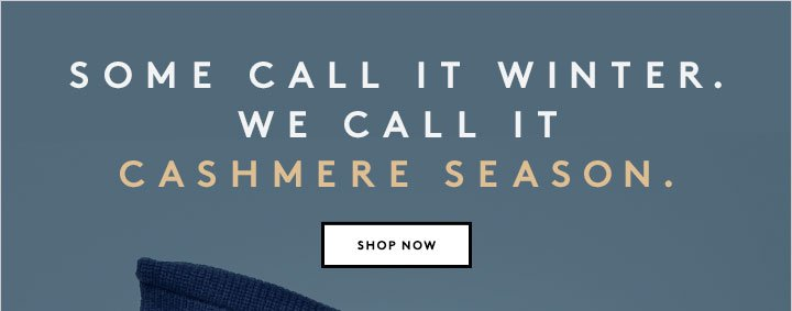 Need a way to beat the chill? We suggest cashmere...