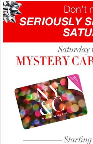 Mystery Card Giveaway - Saturday Until Noon!