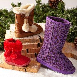 Warm Walking: Faux Fur Shoes