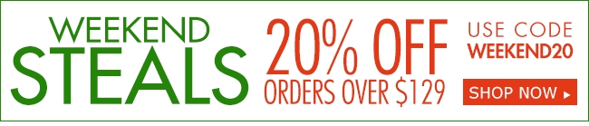 Weekly Steals 20% off SITEWIDE