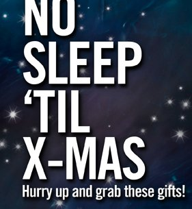 NO SLEEP 'TIL X-MAS