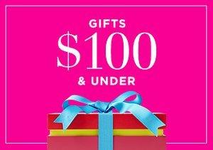 Gifts $100 & Under