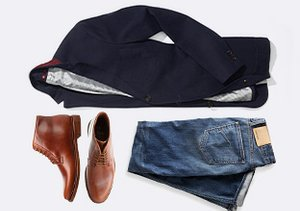 The Look: Ankle Boots, Jeans & Blazers
