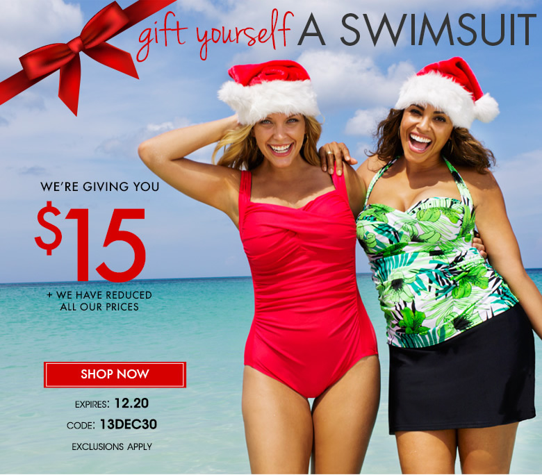 Gift Yourself A Swimsuits - We're Giving You $15