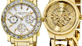 Gold Glamour Watches and Jewelry