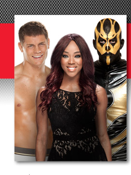 Alicia Fox, Cody Rhodes & Goldust